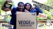 Vegan COSTCO?! | Bulk Plant-Based Food Delivered to your doorstep! | VEDGEco Unboxing \u0026 Review