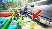 OFF ROADING GONE WRONG... TRAILER BROKE! (I'm an idiot)