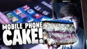 I TURNED MY PHONE INTO A CAKE! xD