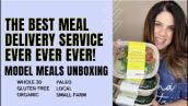 Model Meals Delivery Service Unboxing (whole30 / gluten free / paleo) | Krysten