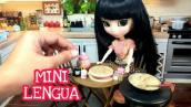 MINI FOOD LENGUA FULLY FUNCTIONAL MINIATURE KITCHEN SET COOKING |TINY EDIBLE FOOD| MINIATURE COOKING