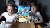 BIRTHDAY CAKE POPCORN!! Munchpak w/ FRIEND - Part 1
