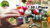 Unboxing Miniature Kitchen Set | Clay Kitchen Items | Miniature Food Stories@2020