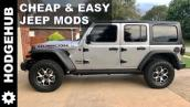 Jeep Rubicon First, Cheap \u0026 Easy Mods