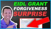 EIDL Grant Forgiveness after PPP Loan Surprise