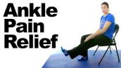 Ankle Pain Relief Stretches - 5 Minute Real Time Routine