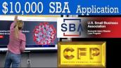 EIDL How to fill out SBA EIDL Disaster Loan Application Step by Step EIDL $10000 Loan Application