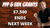 NEW FREE GRANT $$$ SBA EXTENDED EIDL PPP UPDATE Stimulus Disaster Relief PPP Uber Lyft Drivers