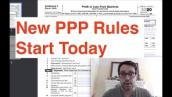New PPP Rules Start Today | EIDL Grant Updates | Stimulus Check Updates
