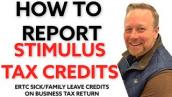 ERTC, SICK \u0026 FAMILY LEAVE TAX CREDITS: HOW TO REPORT ON TAX RETURN [IRS RELEASES INSTRUCTIONS]