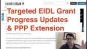 New Targeted EIDL Grant Updates and PPP Loan Updates