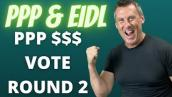PPP EIDL Update 10-18-20: Vote On Second Round PPP Loans Monday! Treasury Helps PPP Fat Cats