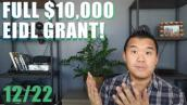 EIDL Grant FULL $10,000!, PPP Second Draw