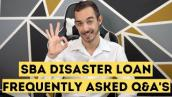 SBA Disaster Loan Economic Injury Disaster Loan and Reconsideration steps