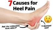 What are the 7 causes of Back of the Heel Pain?