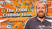 Lyft \u0026 Uber Drivers: The $1,000 Credible Loan Review