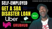 EIDL SBA Disaster Loan for Gig Economy Workers Uber, Fiverr